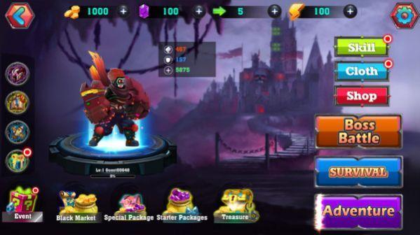 英雄龙之战手游官方安卓版图片1